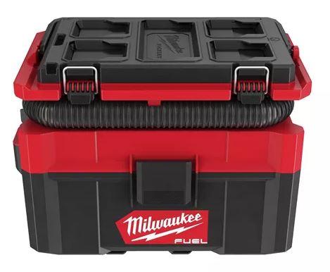Milwaukee FUEL™ Akku-Packout-Nass/Trockensauger M18FPOVCL-0