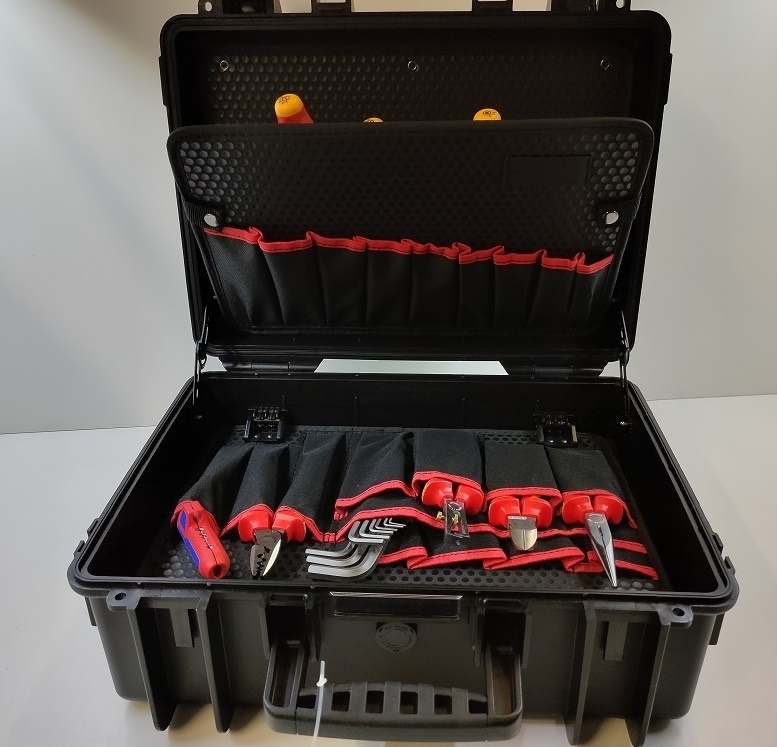 """KNIPEX Werkzeugkoffer """"Robust 23 Start"""" Elektro"""